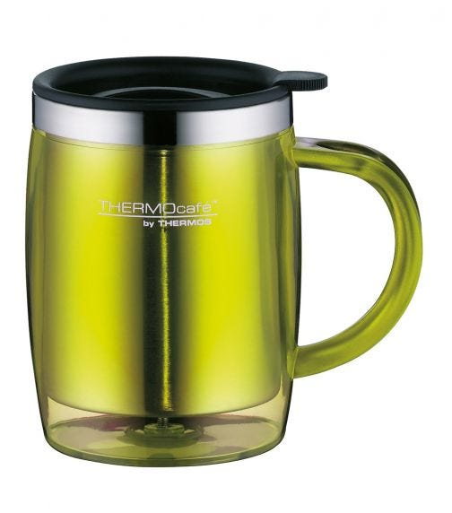 THERMOS Stainless Steel With Plastic Cover Desktop
