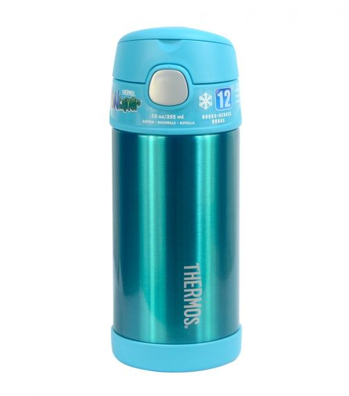 THERMOS Stainless Steel Hydration Water Bottle Teal 355 ML