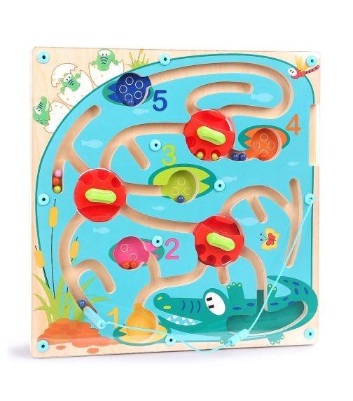 TOPBRIGHT Crocodile Maze Puzzle