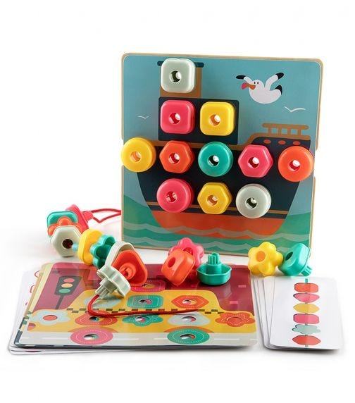 TOPBRIGHT Stack Lacing Button Box