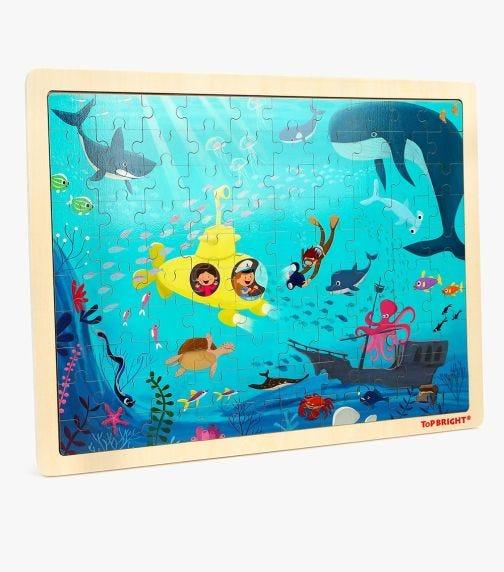 TOPBRIGHT Underwater World Puzzle