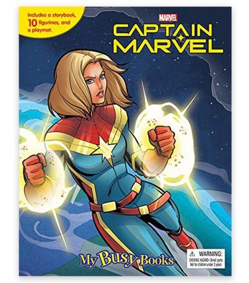 PHIDAL Marvel Captain Marvel My Busy Book
