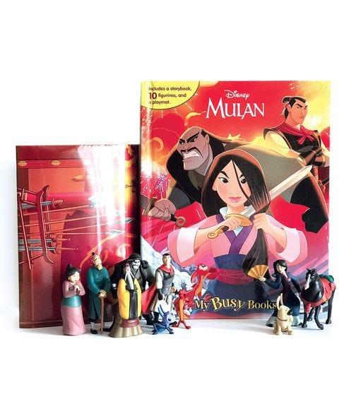 PHIDAL Disney Mulan My Busy Books