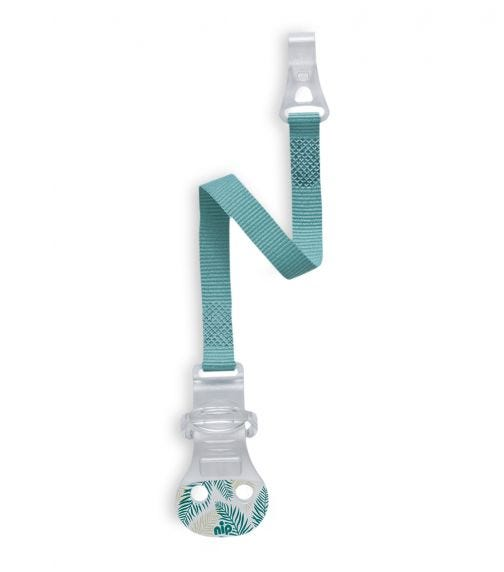 NIP Soother Band With Hook - Blue
