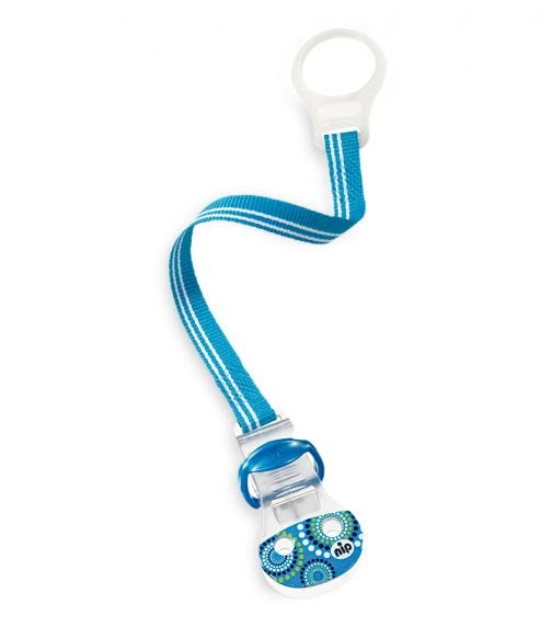 NIP Soother Band With Ring - Blue