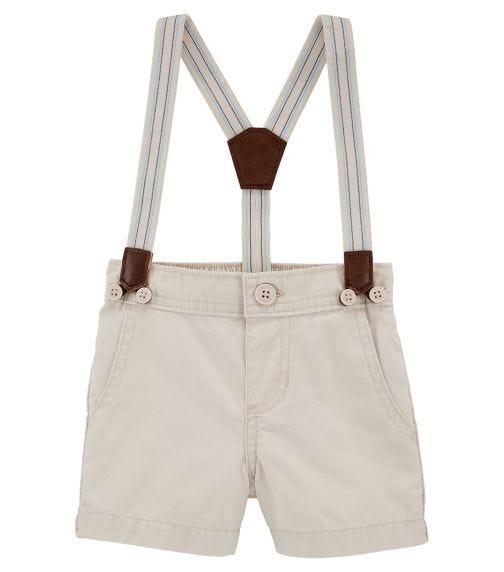 OSHKOSH Suspender Shorts