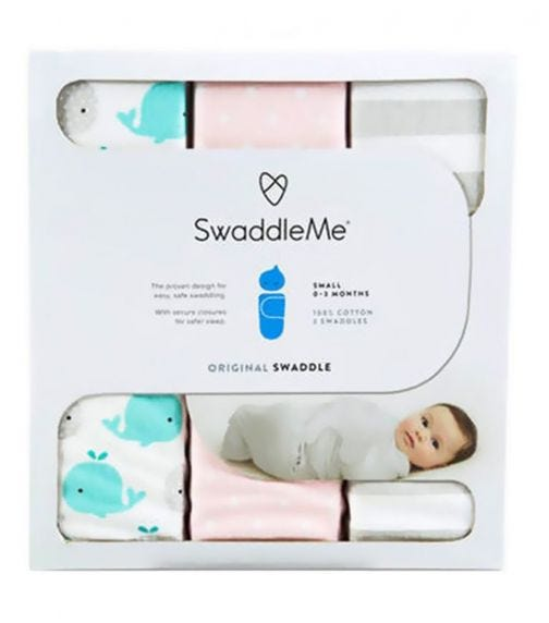 SUMMER INFANT Swaddle Me Original Swaddle From 0-3 Months