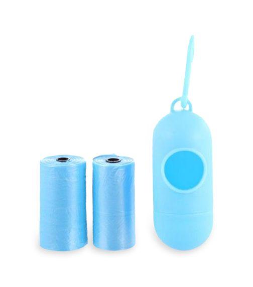 PIXIE Disposable Dispenser Bag & Refill, Blue (Bundle Of 3)