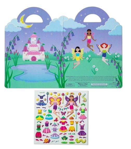MELISSA&DOUG Puffy Sticker Play Set Fairy