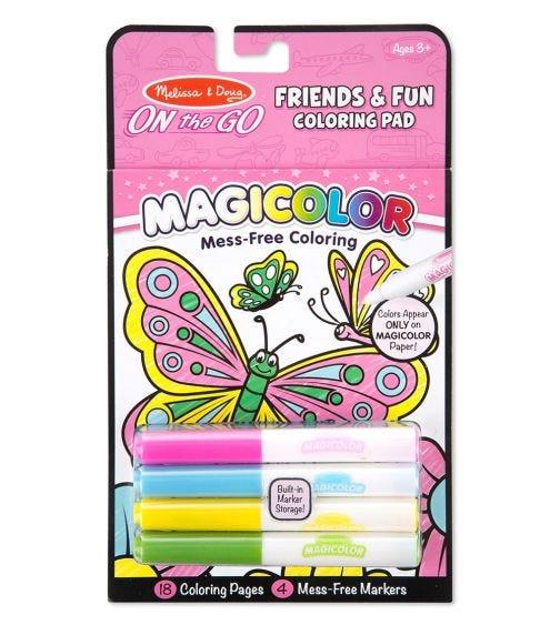MELISSA&DOUG Magicolor Coloring Pad Friendship & Fun