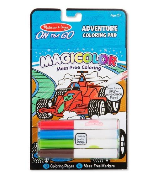 MELISSA&DOUG Magicolor Coloring Pad Games & Adventure