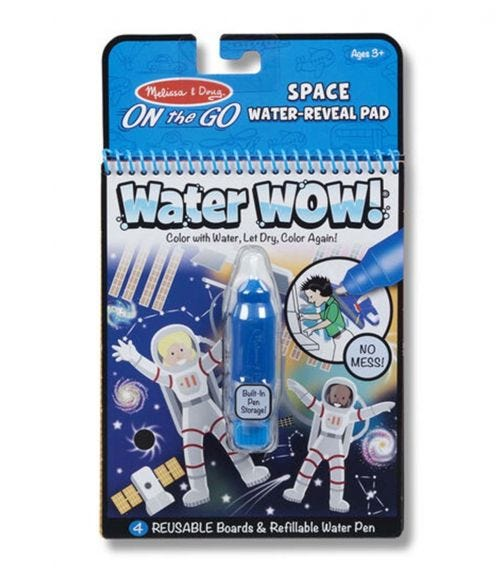 MELISSA&DOUG Water Wow Space Water Reveal Pad