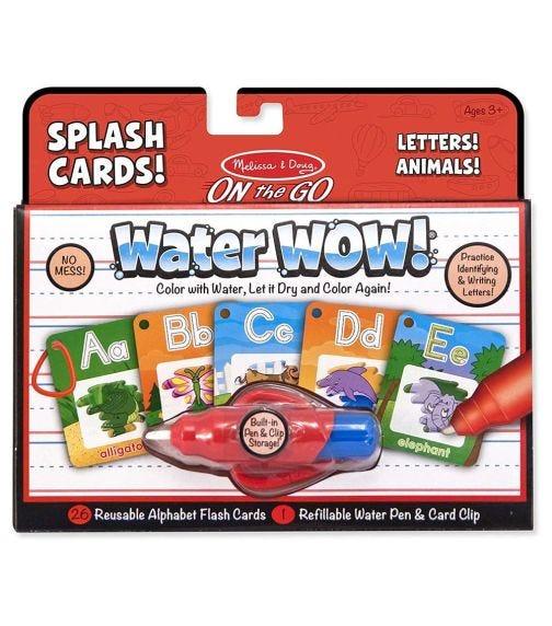 MELISSA&DOUG Water Wow! Splash Cards Alphabet