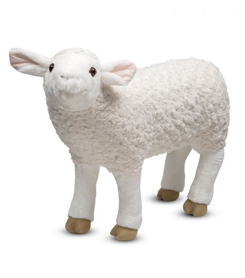 MELISSA&DOUG Sheep Plush