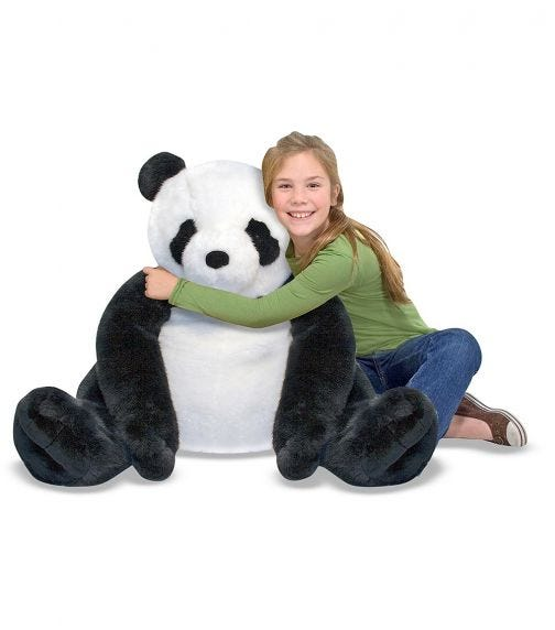MELISSA&DOUG Panda Plush