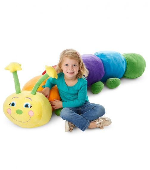 MELISSA&DOUG Jumbo Rainbow Caterpillar