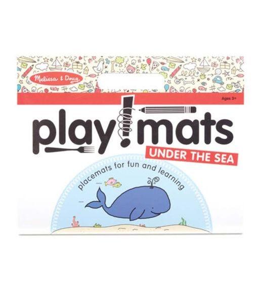 MELISSA&DOUG Playmats Under The Sea