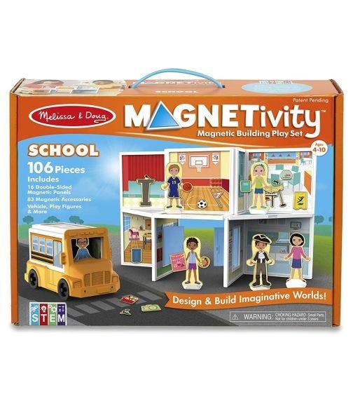 MELISSA&DOUG Magnetivity Magnetic Building Playset