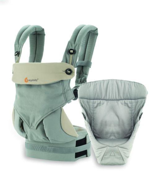 ERGOBABY 360 Bundle Of Joy With Easy Snug Infant Insert Grey