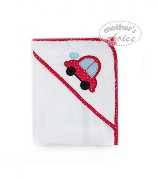 MOTHER'S CHOICE Hooded Towel Car