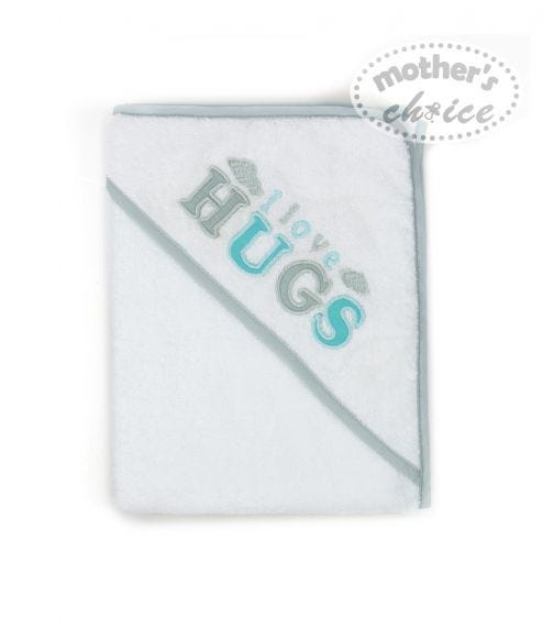 MOTHER'S CHOICE Hooded Towel I Love Hugs