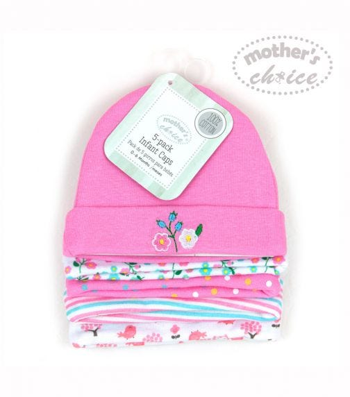 MOTHER'S CHOICE 5 Pack Hats