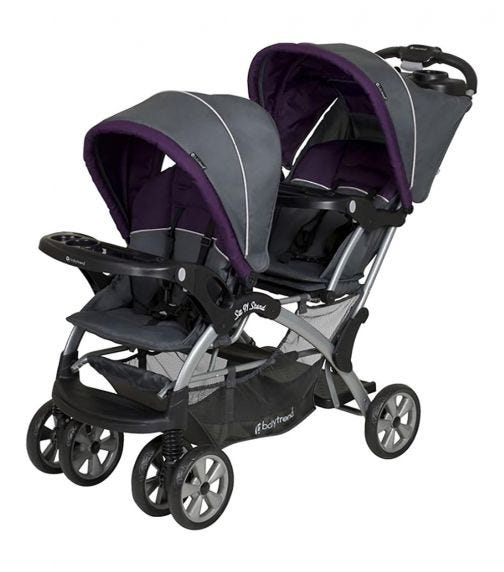 BABYTREND Sit N' Stand Double Stroller Elixer