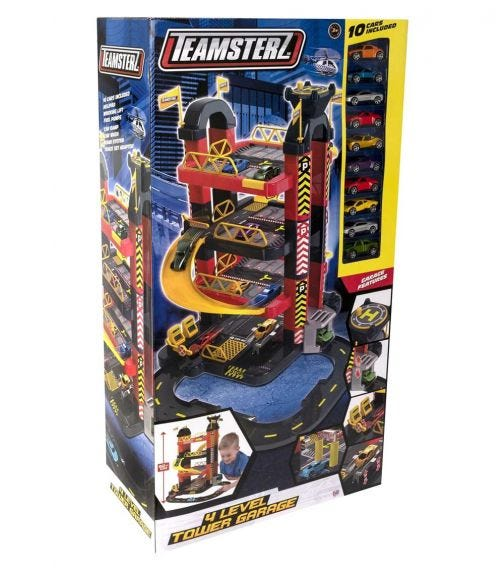 TEAMSTERZ  4L Tower Garage 10 Cars