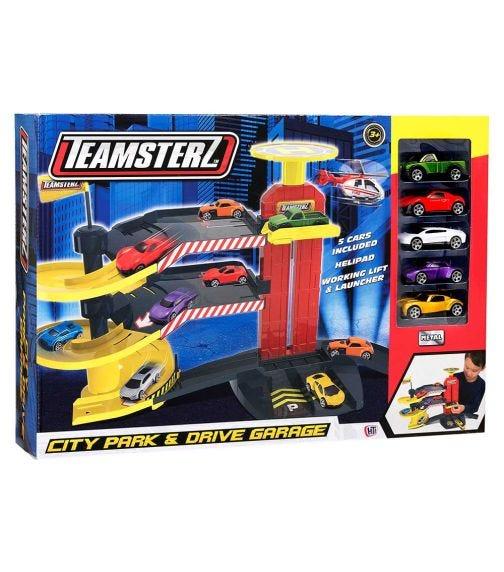 TEAMSTERZ  City Park D Garage 5 Cars