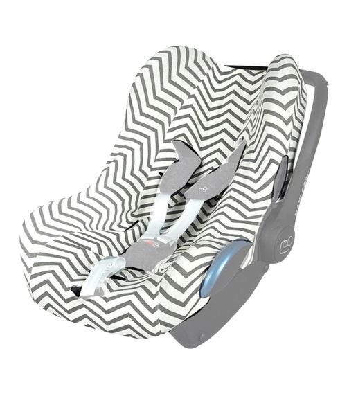 UBEYBI Car Seat Cover Zigzag