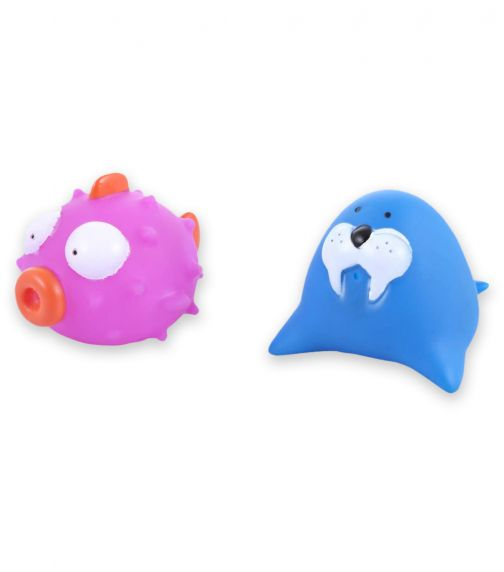 PIXIE Floating Squirty Sealion/Bufferfish 2 Pack