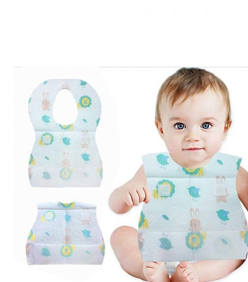 PIXIE Bibs + Changing Mats Baby Disposable Combo