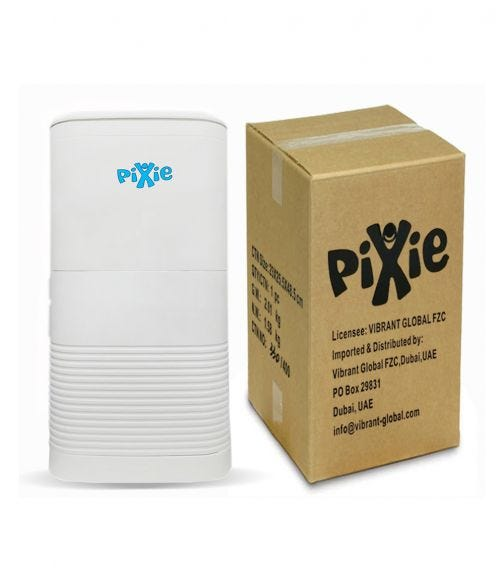 PIXIE Disposable Diaper Pail With Inner Lid