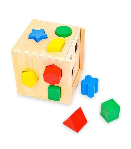 MELISSA&DOUG Shape Sorting Cube