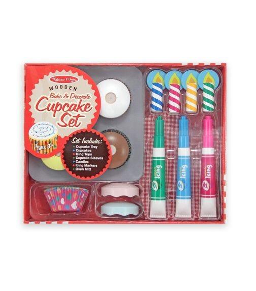 MELISSA&DOUG Bake & Decorate Cupcake Set
