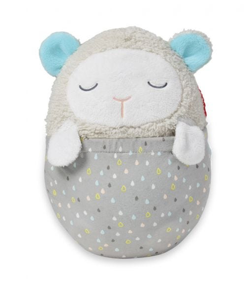 SKIP HOP Moonlight & Melodies Projection Soother Lamb