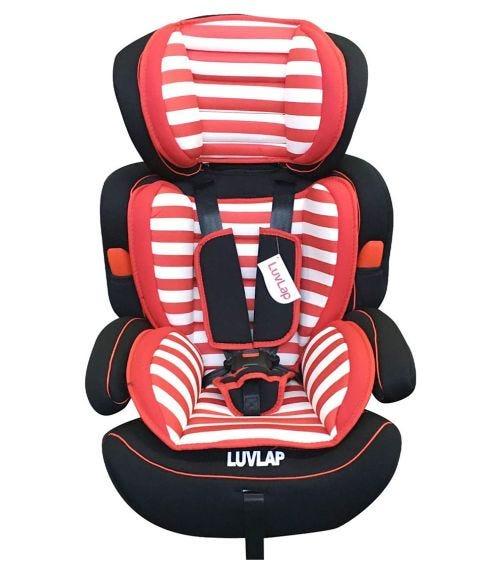 LUVLAP Child Car Seat Multi-Adjustable - Red