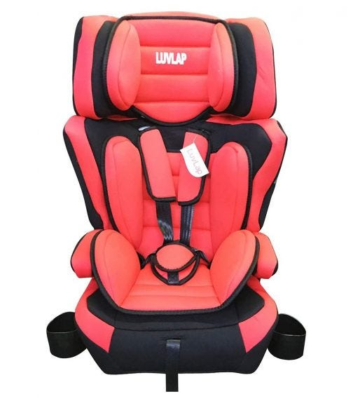 LUVLAP 3 In 1 Child Car Seat With Foldable Cup Holder