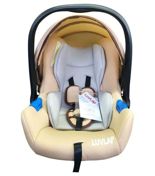 LUVLAP Infant Carrier Car Seat - Cream