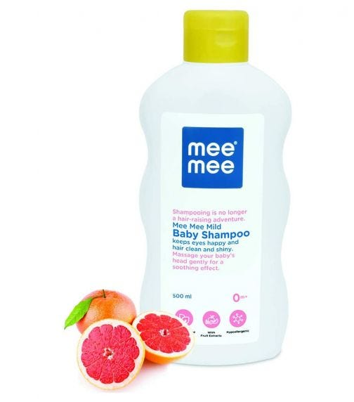 MEE MEE Mild Baby Shampoo With Fruit Extracts