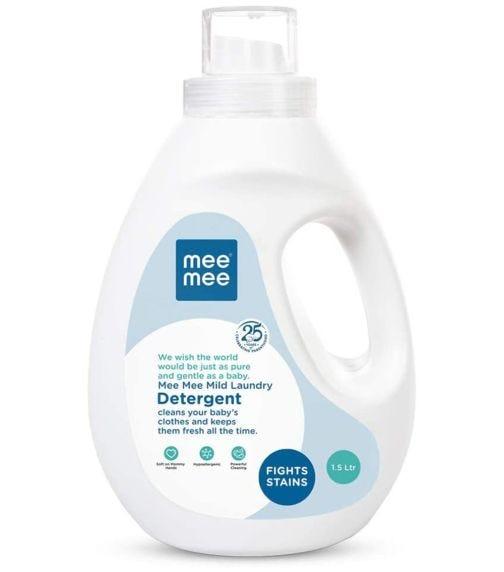 MEE MEE Mild Baby Liquid Laundry Detergent Liter Bottle