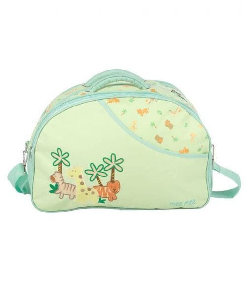 MEE MEE Diaper Bag With Removable Shoulder Straps Green