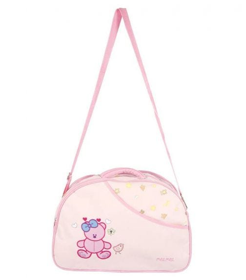 MEE MEE Diaper Bag With Removable Shoulder Straps Pink