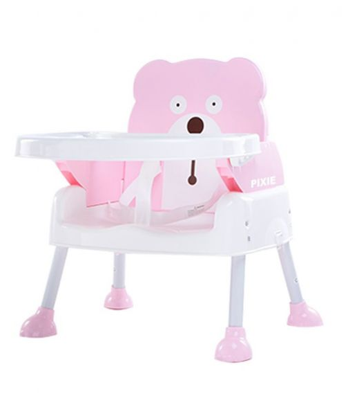 PIXIE Booster Seat Dining Chair And Table 6501 - Pink