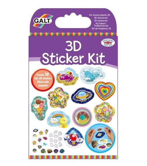 GALT 3D Sticker Kit Kids Activity