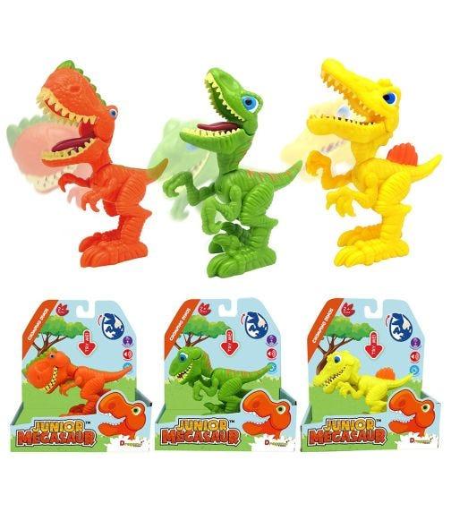 JUNIOR MEGASAUR Chomping Dinos (Assorted)