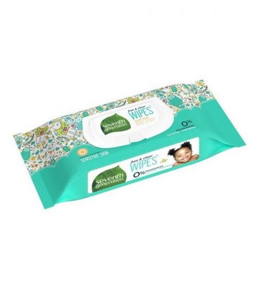 SEVENTH GENERATION Free And Clear Baby Wipes Widget