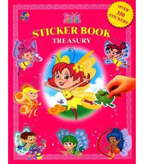 PHIDAL Fairies Forever Sticker Book Treasury