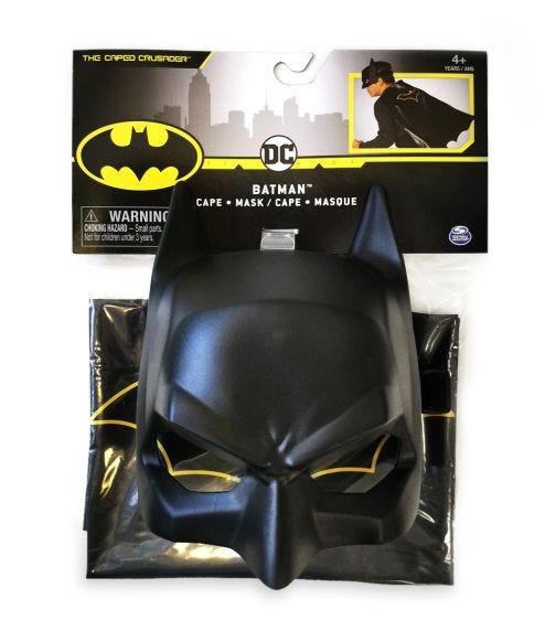 BATMAN DC Mask/Cape Bundle Set