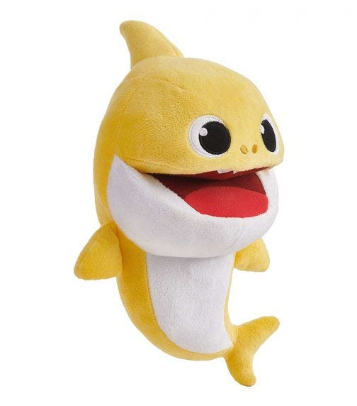 BABY SHARK Song Puppets With Tempo Control - Baby Shark